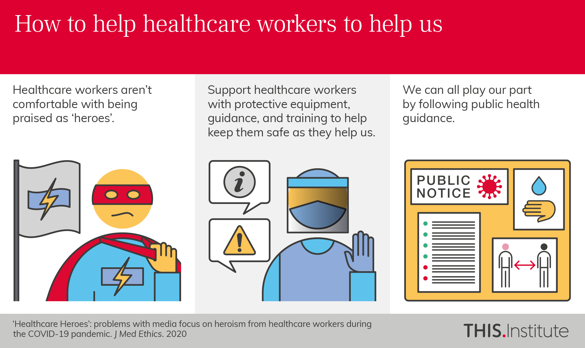 How to help healthcare workers to help us